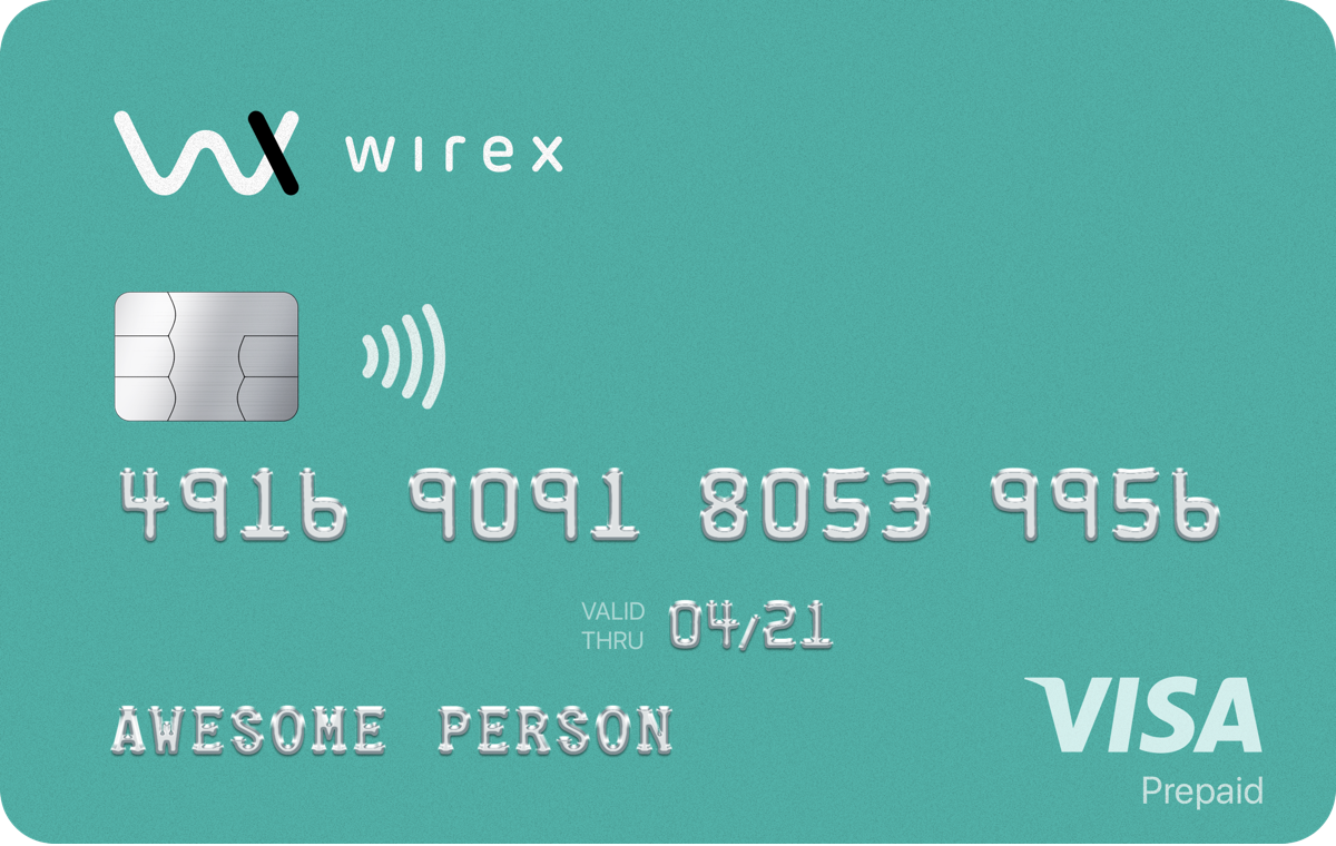 Wirex BitcoinCard